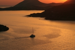 Sunset Port Sounio